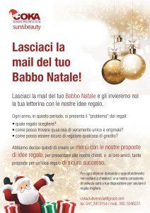 promozione e menù natalizio di coka club